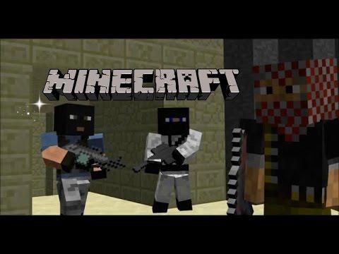 Minecraft Counter  Strike Animation