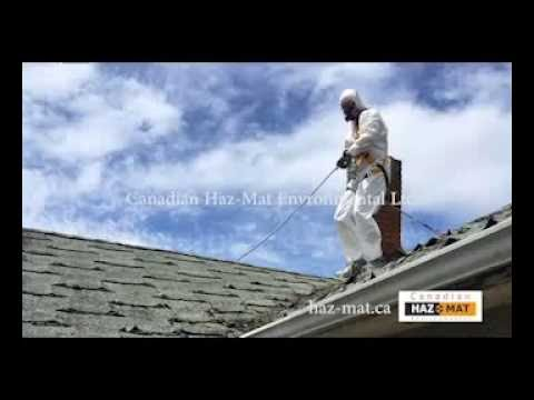 Asbestos removal youtube for Asbestos in drywall canada
