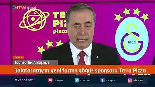 #CANLI - Galatasaray'a yeni sponsor