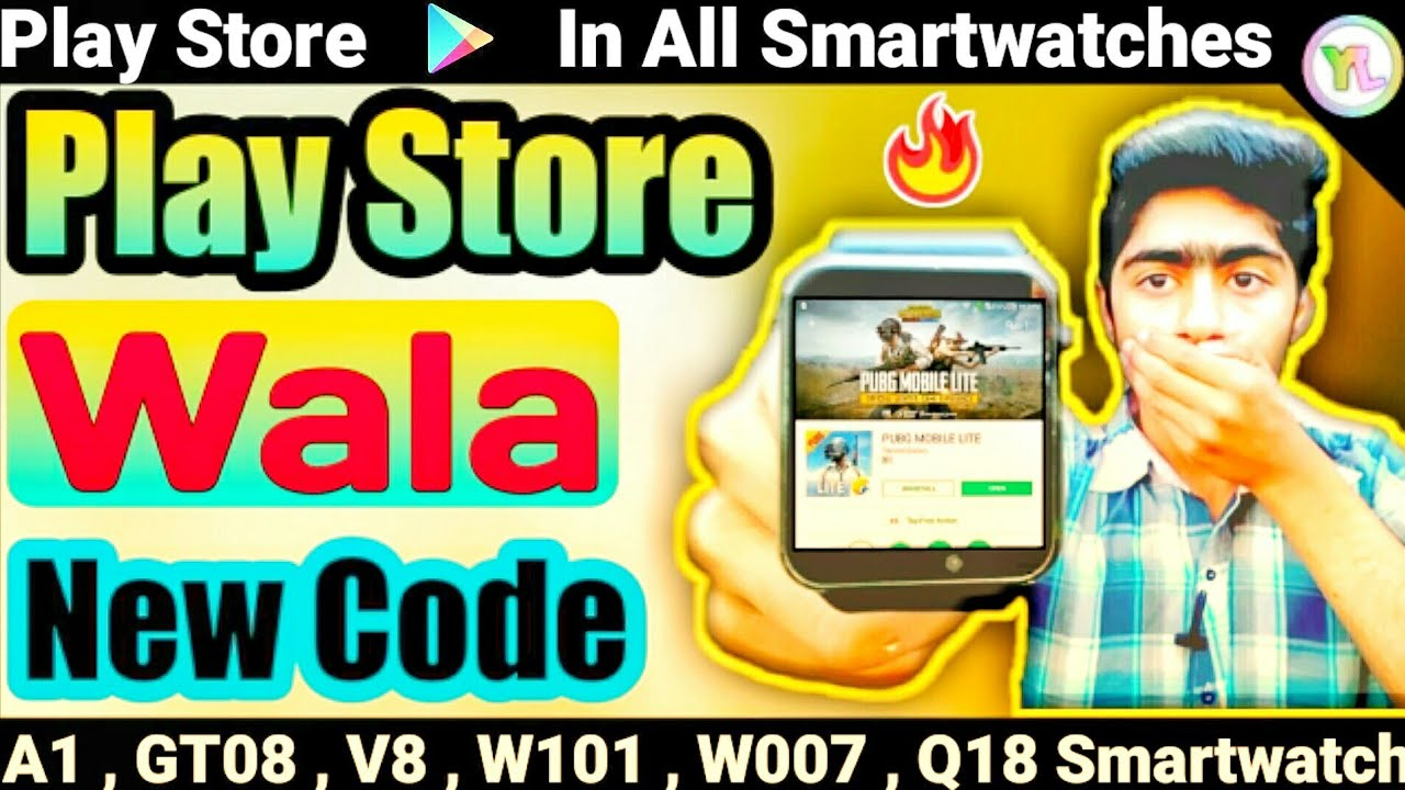 Play store In DZ09 Smartwatch | Play Store Wala New Secret Code | 1 New  Secret Code | You Look