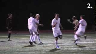 SFU Men's Soccer Top 10 Goals of 2012