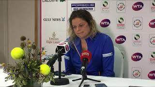 Kim Clijsters discusses her comeback match against Muguruza in Dubai | DDF Tennis 2020