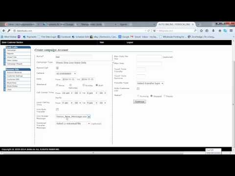 How to use DialerLeads simple dialer
