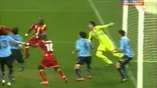 Рука Суареза, пенальти, перекладина, выход Уругвая в полуфинал