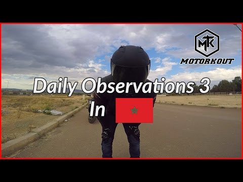 Daily Observations #3 in MOROCCO | The Girl, How to have FUN and Filtering with an R6