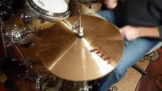 "PAISTE pst 7 14"" heavy hi hat cymbals"
