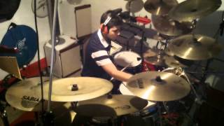dream theater- finally free (drum cover)