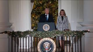 President Trump Attends the 2020 National Christmas Tree Lighting