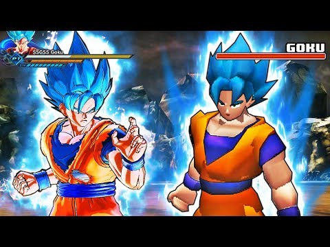 """What Happens When You Play """"PS1"""" Dragon Ball Xenoverse 2? (PlayStation 1 Bad Graphics)"""