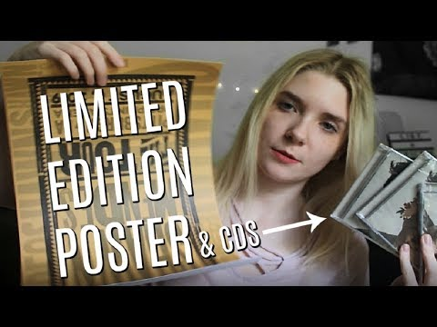 Limited Edition Shawn Mendes Tour Poster (+ CDs) UNBOXING | Olivia Rena