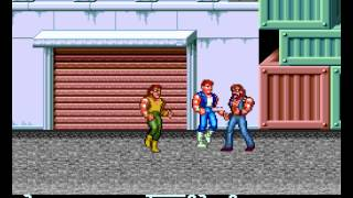 Double Dragon II - The Revenge - Double Dragon II - The Revenge (TurboGrafx-CD) - Stage 1 theme - User video