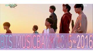 BTS MUSICBANK 2015~2016 모음Zip
