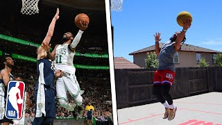 Remaking Kyrie Irving's CRAZIEST Layups..