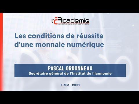 Les Entretiens de l'Académie : Pascal Ordonneau