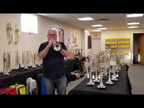 Pre-Owned Adams Custom c2-l  C trumpet for sale at ACB