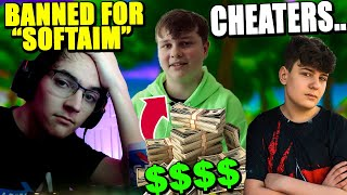 Clix FAKE Cheating.. Should it Be Allowed? How much Money Benjyfishy Makes! KNG Pro BANNED for this!