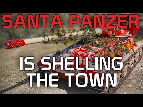 Santa Panzer Is Shelling The Town! (Pz.Kpfw. VII) | World Of Tanks