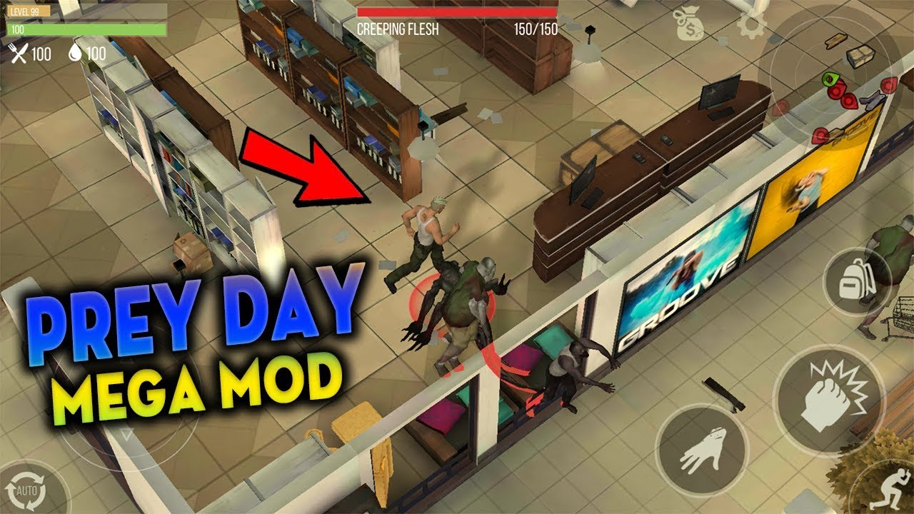 Prey day survival мод
