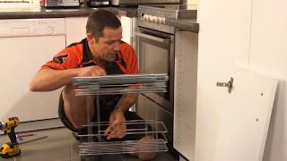 How To Install A Kitchen Cupboard Organiser | Mitre 10 Easy As