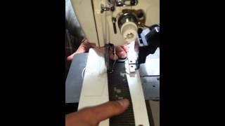 군인벨트 두께6mm웨빙작업