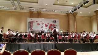 Bagan Jaya School Band(BJSB) straight ahead (Malaysia Music Art Festival 2014)