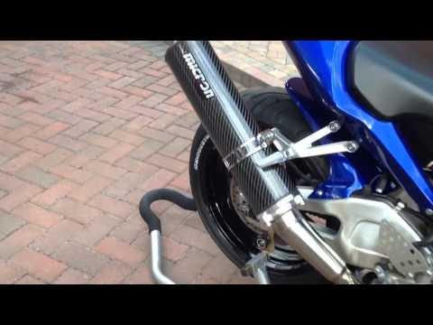 CBR954 RR Fireblade with Micron Exhaust
