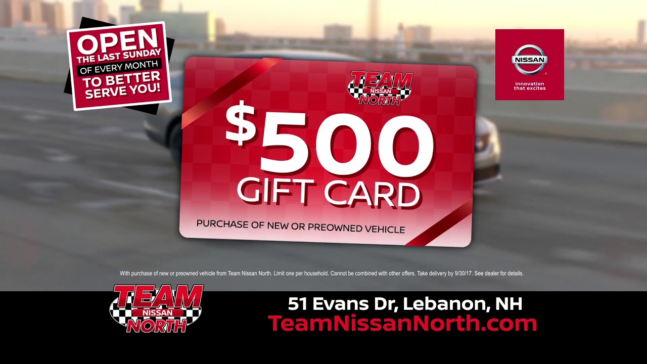 Great Deals Continue At Team Nissan North