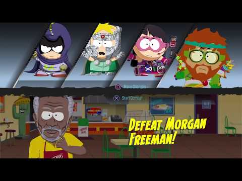 south park: the fractured but whole -  defeat morgan freeman!