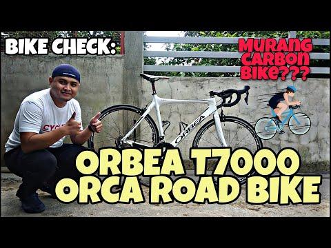 CHEAP but HIGH  END CARBON BIKE   ORBEA T7000 ROAD BIKE CHECK   VLOG 17   XYRUS GAMILLS