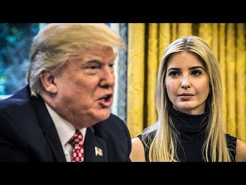 """Ivanka Trump Is """"Spitting Image"""" Of Her Father, White House Correspondent Says"""