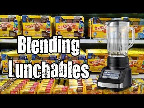 Blendurrr - Blending Lunchables *Vomit Alert*