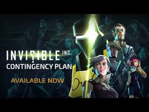 Invisible. Inc: Contingency Plan Launch Trailer