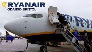 TRIP REPORT | Ryanair Boeing 737-800 | Gdansk - Bristol | FR8255 EI-EFE