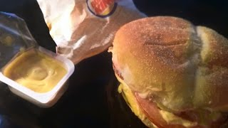 Обзор Новый бургер «Сырный Джо» в Бургер Кинг Ламповый