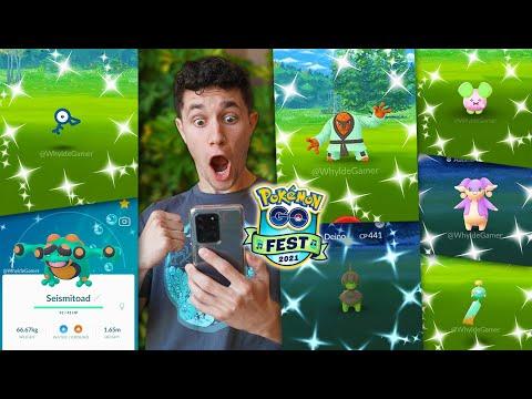 Download POKÉMON GO FEST 2021 - NEW POKÉMON, SHINIES, EVENTS, & MORE! (Full Event Details)