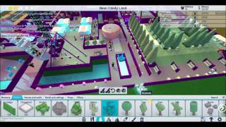 Roblox Theme Park Tycoon Part 4 Neon Candy Land A few Touch Ups And Water