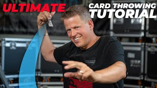 HOW to THROW PLA¥ING CARDS | Rick Smith Jr.