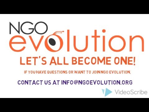 NGO EVOLUTION - Create your dream job