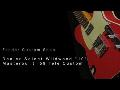Fender Custom Shop Wildwood 10 1959 Tele w Humbucker • Wildwood Guitars