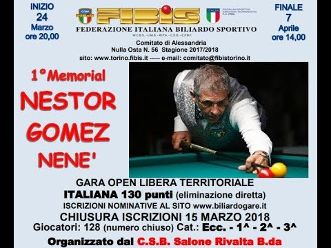 BELLUTA vs D'INNOCENZO - 1°MEMORIAL NESTOR GOMEZ 2018 RIVALT