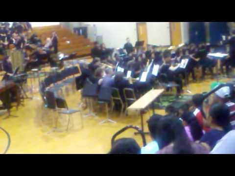 South hall middle school 8th grade band