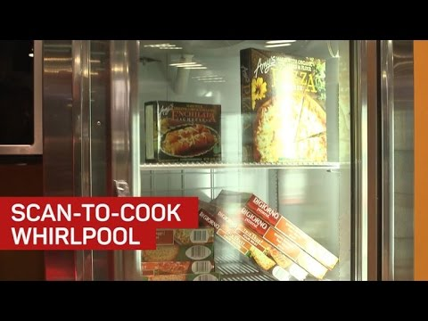 Whirlpool's smart bar code scanner cooks for you