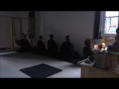 ASMR Méditation 20 minutes de zazen au dojo...
