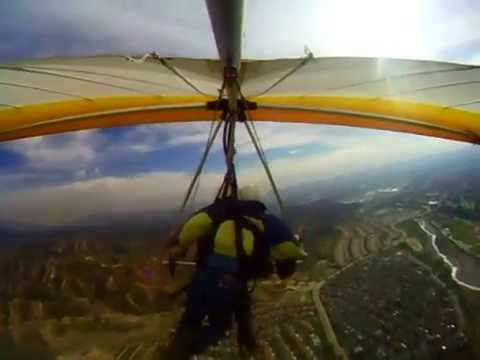 Hand Gliding RearView