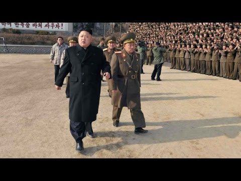 North Korea threatens nuclear strike over military drills