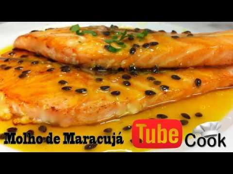 Receita - Salmão com molho de maracujá from YouTube · Duration:  2 minutes 47 seconds