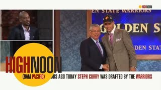 Remembering the day the Warriors drafted Steph Curry | High Noon | ESPN