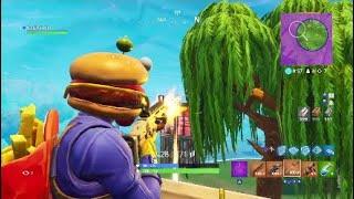 Fortnite new skin burr burger