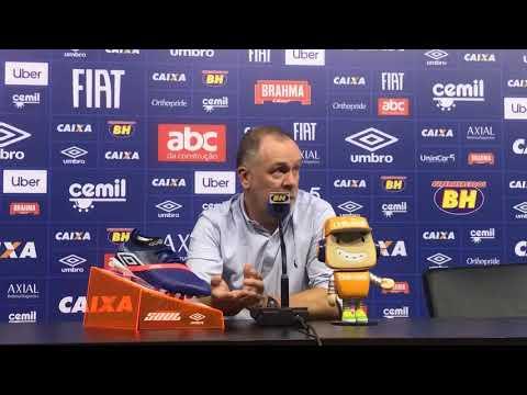 26/09/2018 - Cruzeiro 1:1 Palmeiras - Coletiva Pós-jogo: Mano Menezes