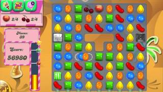 Candy Crush Saga Level 124 No Boosters 3 Stars